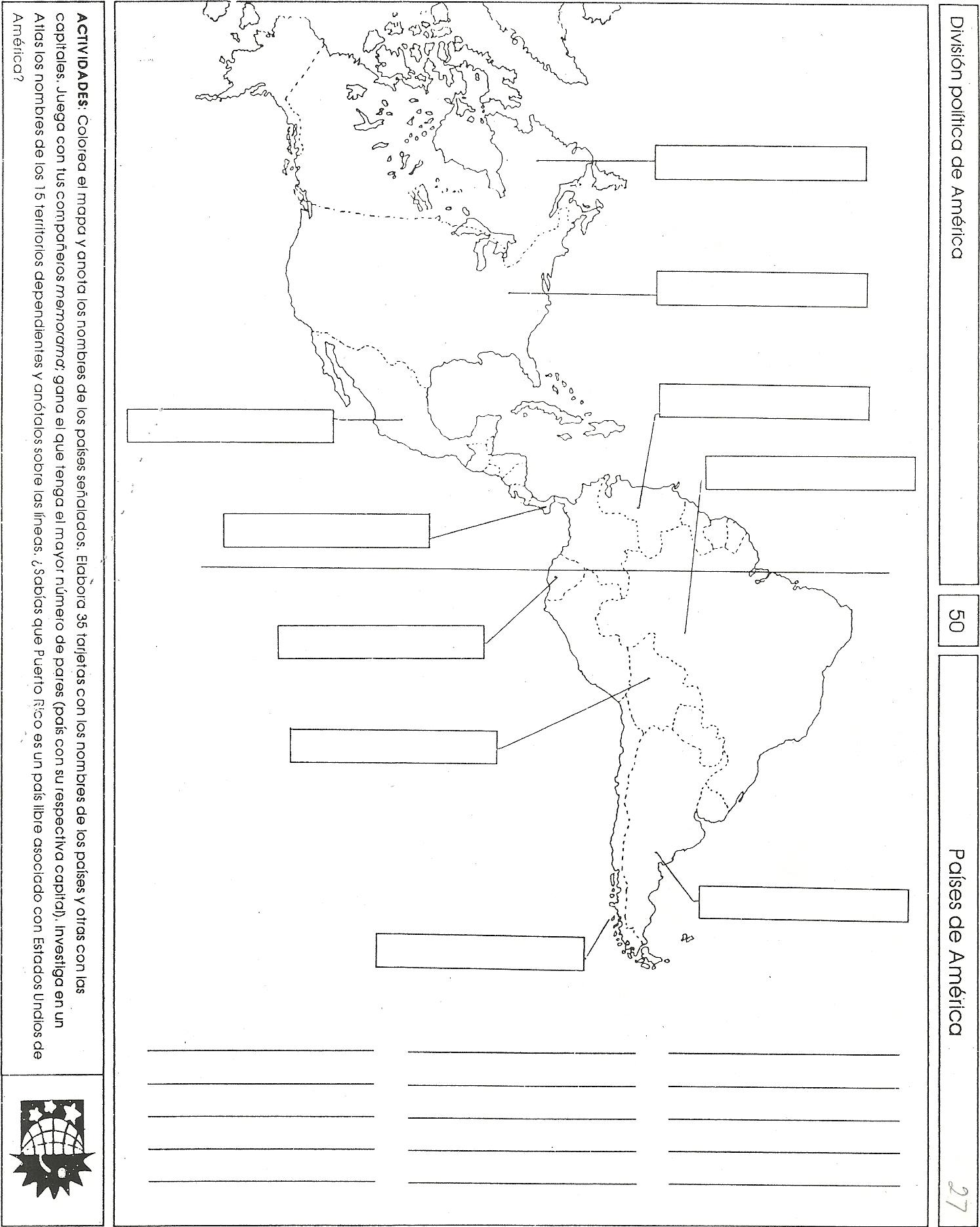 Primer Grado (Geografía de México y del Mundo)   Secundaria